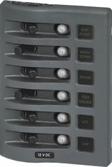 6 Position WaterProof Circuit Breaker Panel