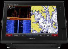 """Garmin 7612 12"""" FishFinder/G.P.S./Chartplotter/Radar w/Built In 1Kw Sounder"""