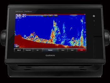 """Garmin 7608 8"""" FishFinder/G.P.S./Chartplotter/Radar"""