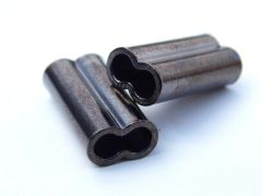 Copper Double Barrel Long Crimp Sleeves 1.0mm to 2.9mm 60 Pack