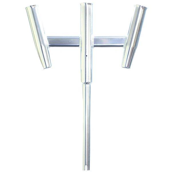 Triple Aluminum Straight Butt Kite Rod Holder 88159