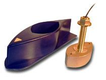 526TID-HDD 1kW Bronze Thru-Hull Transducer