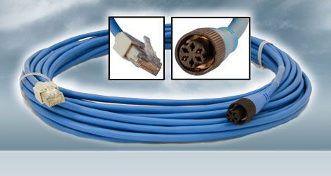 RJ-45 to 6 Pin - 3' Cable 000-159-704