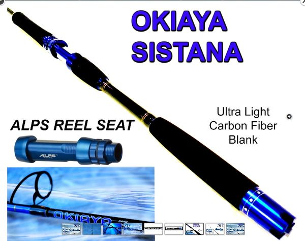 Okiaya Sistana Carbon Fiber 50-80lb Spinner