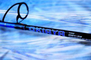 """OKIAYA Carbon """"NANO SERIES"""" 30-50LB Spinning Rods"""
