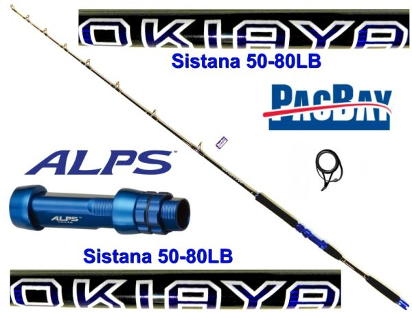 Sistana Jigging 50-80lb Rod