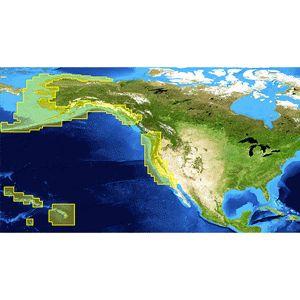 Lowrance Nautic Insight H.D. West Coast/Hawaiian Islands