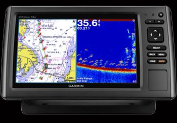 Garmin EchoMap 94Sv With 50/200hz Transducer