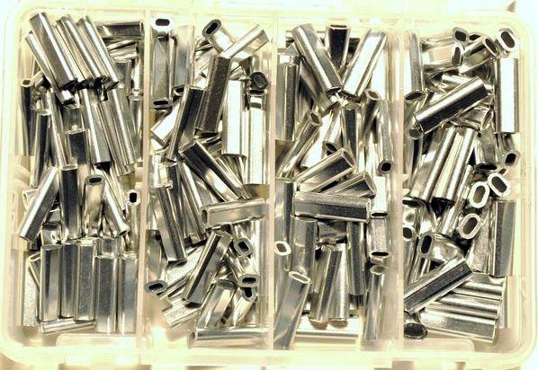 Aluminum Crimp Kit 200 Crimps
