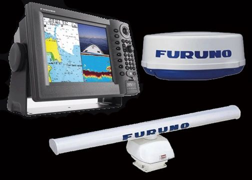 "Navnet 10.4"" Chartplotter/G.P.S./FishFinder With Radar Combo"