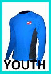 Youth SPF-50 Performance Shirt Rash Guards