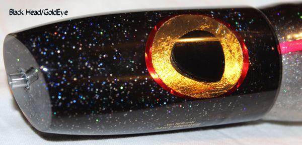 Saturn - Plunger - Black/Gold Eye