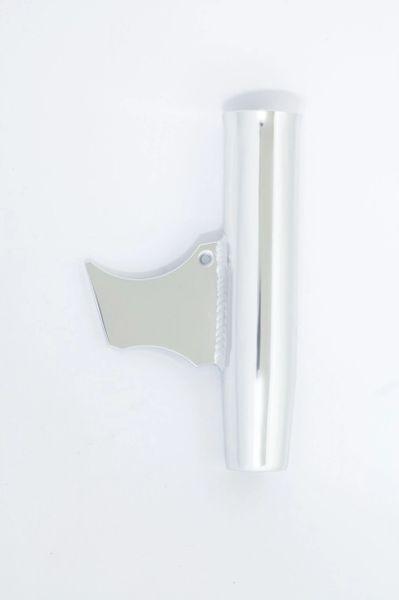 """10"""" Weld On Aluminum Rod Holder w/Long Wedge"""