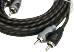 Rockford Fosgate Twisted Pair RFI-20 20 ft RCA Signal Cable