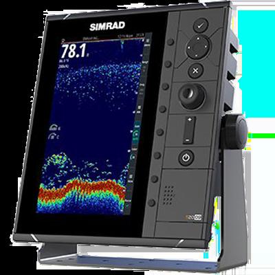 """S2009 - 9"""" 1,000 Watt CHIRP FishFinder - No Xdcr"""