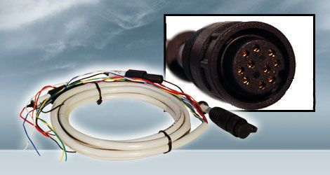 Furuno power cable 000-156-405 fits fcv-620, fcv-585