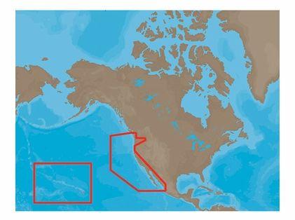 C-Map MAX-N NA-N024 - US West Coast & Hawaii