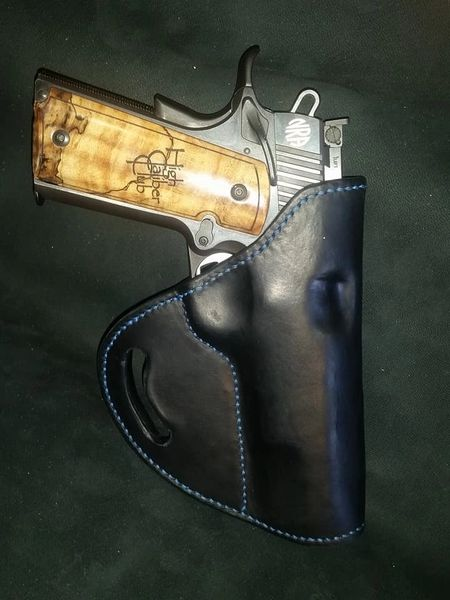 Hand Stitched Leather Holster