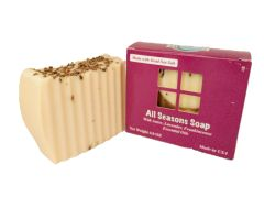 """All Seasons"" Natural Soap with Anise, Lavender & Frankincense"