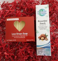 Beautiful Touch & Love Grows Gift for Valentine's Day