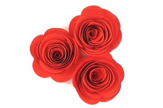 Pumpkin orange rose paper flowers lovely handmade paper roses handmade paper roses pumpkin orange 16pk mightylinksfo
