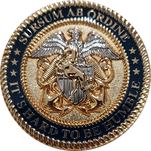 Sample Personalized Retirement Coins