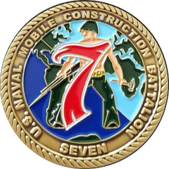 NMCB 7 CHIEF PETTY OFFICERS COIN