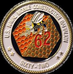 NMCB 62 COMMAND COIN