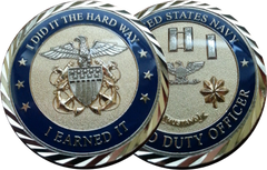 Limited Duty Officer Coin