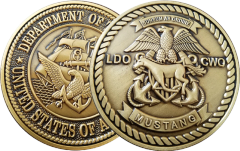 Traditional LDO/CWO Coin 2""
