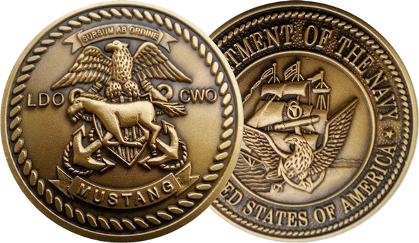 "Traditional LDO/CWO Coin 1.5"""