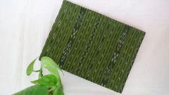 Single Ikkat Blouse Piece - Mehendi Green