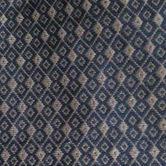 Faux Silk Brocade Blouse Piece - Black