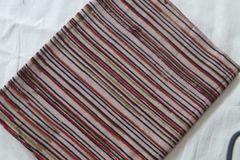 Kalamkari Printed Blouse Piece - Stripes
