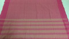 Mangalagiri Sarees - Cotton - Pink Stripes