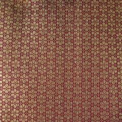Faux Silk Brocade Blouse Piece - Maroon