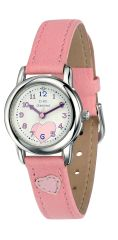 D For Diamond Girl's Pink Watch