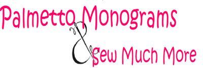 Palmetto Monograms