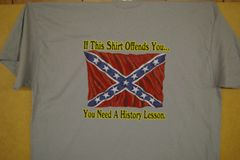 If This Shirt Offends You... Grey