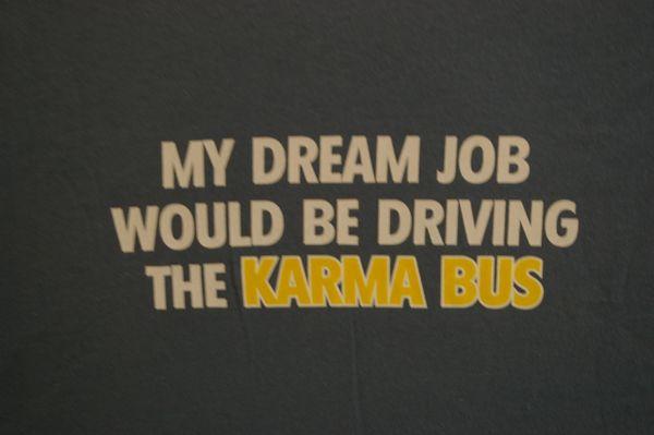 Dream Job Karma Bus Driver Texas Special Tees