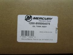 1200-8M0064075 oil tank new by Mercury
