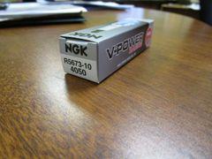 NGK spark plug R5673-10 stock 4050 V-Power Racing
