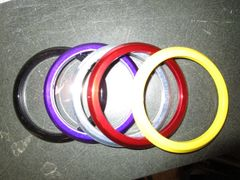 "bezel size is 2 5/8"" powdercoated for monster gauge"