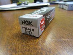 NGK spark plug R5674-8 stock 5657 V-Power Racing