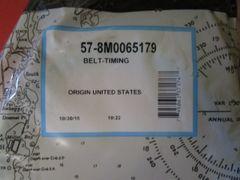 57-8M0065179 timing belt new by Mercury