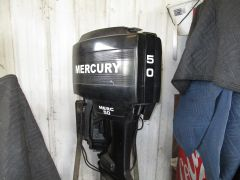 1987 Mercury 50HP ELPTO electric start 20""
