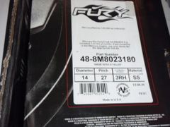 27 Fury 48-8M8023180 new by Mercury no hub