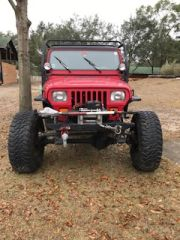 1991 Jeep Y5 set to rock crawl 456 gears