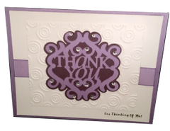 20 Handcrafted Thank you Card for Her