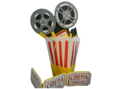 20 Handcrafted Pop by Gifts; PopCorn Box For Realtors or Lenders